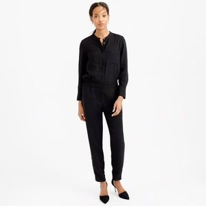 J Crew women 2 Jumpsuits collarless long sleeves